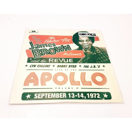 James Brown, Lyn Collins, Bobby Byrd, The J.B.'s ‎– Live At The Apollo Volume IV 2 Lp Vinyl RSD 2016