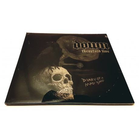 Down – Threefold Live Diary Of A Mad Band 3 Lp Vinyl Trifold