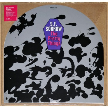 The Pretty Things ‎– S. F. Sorrow Lp Vinil 180 Gram Portada Lapida