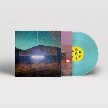 Arcade Fire - Everything Now Lp Blue Vinyl 180 Gram (Night Version) Limited Edition Pre Order 28/07/2017