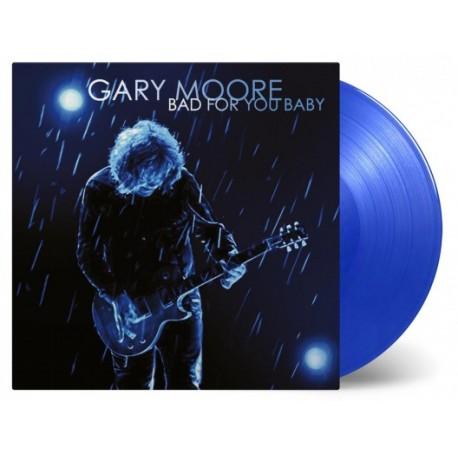 Gary Moore - Bad For You Baby 2 Lp Vinilo De Color Azul Limitado a 1500 Copias MOV 180 Gram