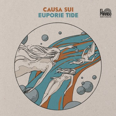 Causa Sui - Euporie Tide 2 Lp Orange Vinyl Limited To 500 Copies