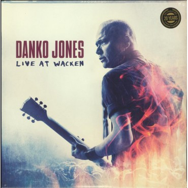 Danko Jones – Live At Wacken 2 Lp Vinyl Gatefold Sleeve Sale!!!