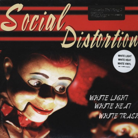 Social Distortion ‎– White Light White Heat White Trash Lp Vinyl 180 Gram MOV