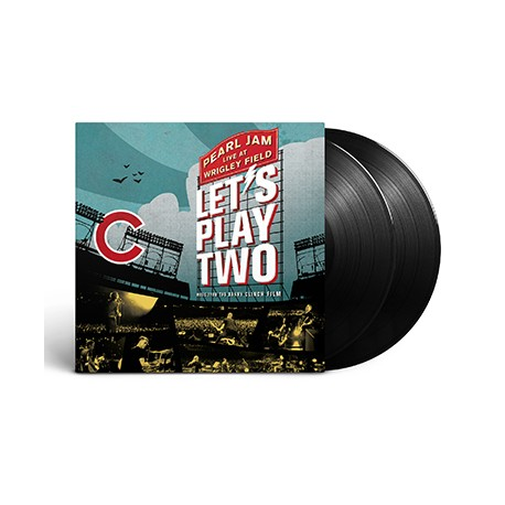 "Pearl Jam - Let's Play Two 2 Lp Vinyl Gatefold Sleeve ""Old Style Tip On"""