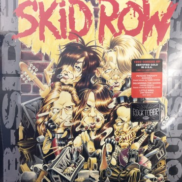 Skid Row - B Sides Ourselves Lp Ep Grey Vinyl Limited To 3000 Copies