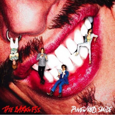 The Darkness ‎– Pinewood Smile Lp Vinilo Portada Gatefold