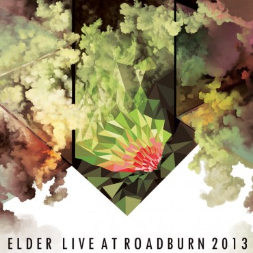 Elder - Live At Roadburn Lp + CD Vinil Verd Portada Gatefold