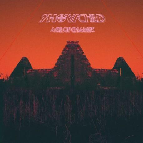 Snowchild - Age Of Change Lp Vinilo Rojo/Negro En 180 Gramos Limitado a 200 Copias Portada Gatefold