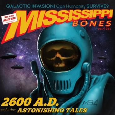 Mississippi Bones - 2600 AD: And Other Astonishing Tales Lp Vinilo Amarillo/Rojo Limitado a 200 Copias Portda Gatefold