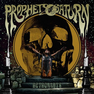 Prophets Of Saturn ‎– Retronauts Lp Brown Vinyl Limited Edition Of 250 Copies