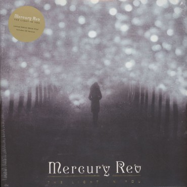 Mercury Rev ‎– The Light In You Lp + CD Vinil Blanc Portada Gatefold