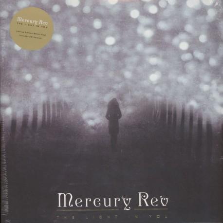 Mercury Rev – The Light In You Lp + CD White Vinyl Gatefold Sleeve