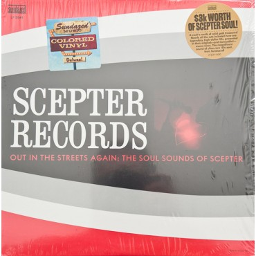 Various ‎– Out In The Streets Again The Soul Sounds Of Scepter Lp Red Vinyl Funk/Soul Release By Sundazed