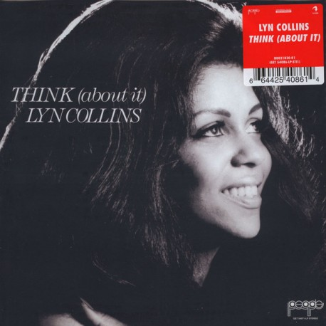 Lyn Collins – Think (About It) Lp  Vinyl + Poster Release By Get On Down Records
