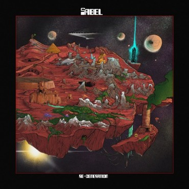 Sabel - Re-Generation Lp Green Splatter Vinyl Limited Edition Of 100 Copies