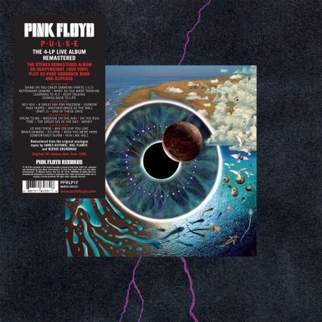 Pink Floyd Pulse 4 Lp Box Set Vinilo De 180 Gramos Pre Pedido (18 Mayo)