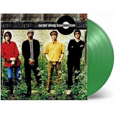 Ocean Colour Scene ‎– Marchin' Already 2 Lp Double Green Vinyl Limited Edition Record Store Day 2018