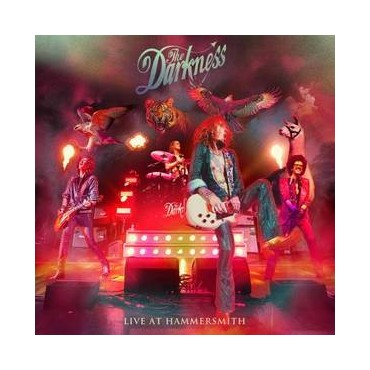 The Darkness - Live At Hammersmith 2 Lp Double Vinyl Gatefold Sleeve