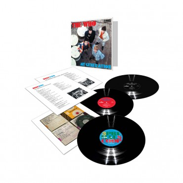 The Who - My Generation Deluxe Lp Triple Vinyl Tri-Fold Sleeve Limited Edition