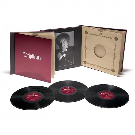 Bob Dylan - Triplicate Deluxe Edition 3 Lp Triple Vinyl Hardbook Edition Numbered
