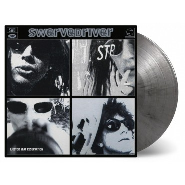 Swervedriver - Ejector Seat Rerservation Lp Black/Silver Vinyl Limited Edition Of 2500 Copies MOV