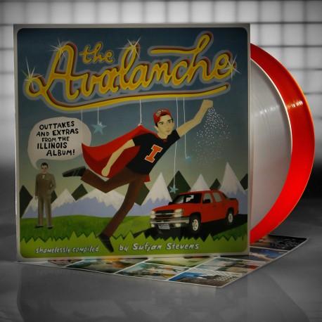 Sufjan Stevens - Avalanche 2 Lp Double White/Orange Vinyl Limited Edition