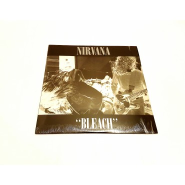 Nirvana - Bleach 1 Lp Made in England Sticker on back cover Sub Pop