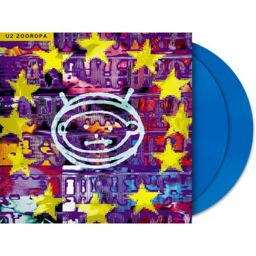 U2 - Zooropa 2 Lp Double Blue Vinyl Limited Edition