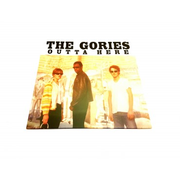 The Gories - Outta Here Lp Vinilo Gatefold