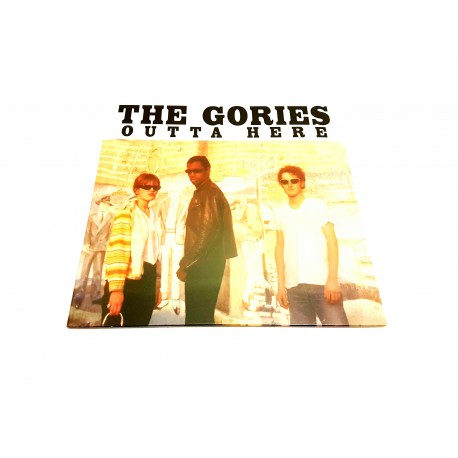 The Gories - Outta Here Lp Vinyl Gatefold