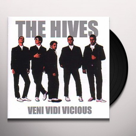 The Hives - Veni Vidi Vicious Lp Silver Vinyl Limited