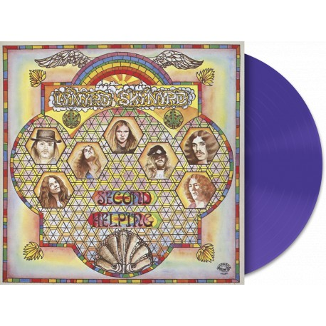 Lynyrd Skynyrd - Second Helping Lp Purple 180 Gram Vinyl Limited Edition