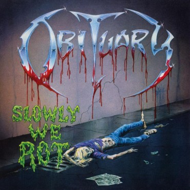 Obituary - Slowly We Rot Lp Vinilo Negro MOV