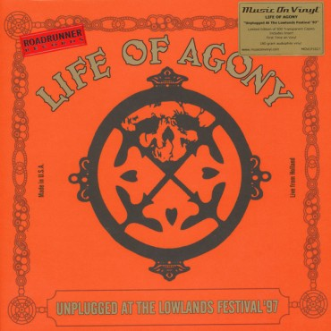 Life of Agony - Unplugged At Lowlands 97 2 Lp Doble Vinilo Naranja Edición Limitada MOV