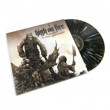 High On Fire - Death Is This Communion 2 Lp Double Color Vinyl Limited Edition Of 1245 Copies
