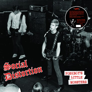 Social Distortion - Poshboy's Little Monsters Lp (EP) Vinilo De Color Edición Limitada