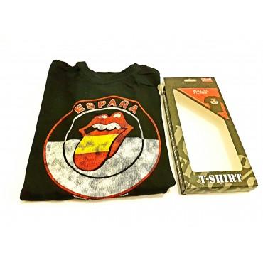 T-Shirt Rolling Stones - España M Black Bravado