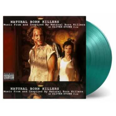 OST - Natural Born killers 2 Lp Double Color Vinyl Limited Edition Of 2000 Copies