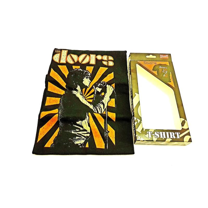 Camiseta The Doors - The Lizard King M Negra Bravado