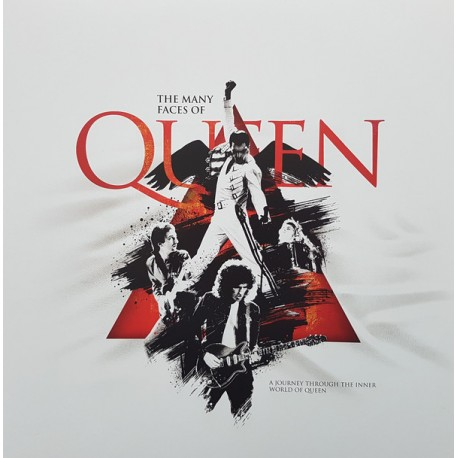 Various ‎– The Many Faces Of Queen 2 Lp Doble Vinilo Rojo Edición Limitada