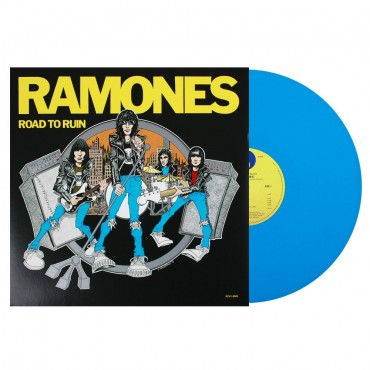 Ramones - Road To Ruin Lp Blue Vinyl Limited Edition.
