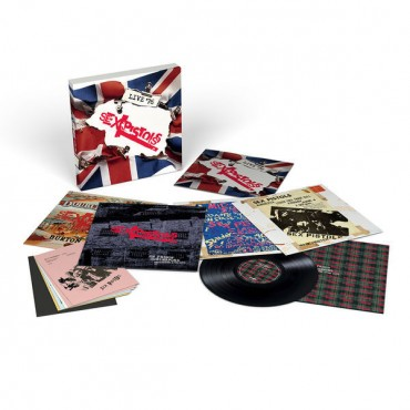 Sex Pistols - Live 1976 4 LP Box Set Cuádruple Vinilo Edición Limitada