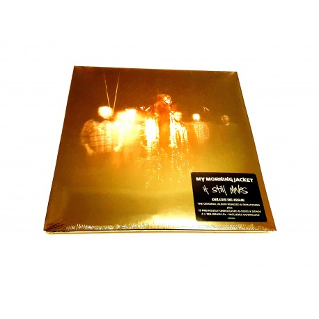 My Morning Jacket - It Still Moves 4 Lp Vinilo Dowload Incluido 180 Gram Deluxe Re-issue