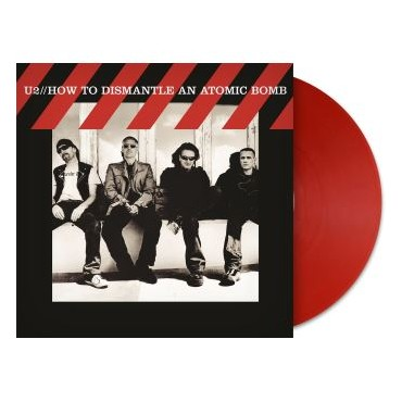 U2 - How To Dismantle An Atomic Bomb Lp Red Vinyl Limited Edition