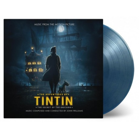 Original Soundtrack - Tintin: The Secret Of The Unicorn Lp Color Vinyl Limited Edition MOV SALE!!!