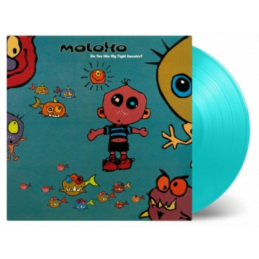 Moloko ‎– Do You Like My Tight Sweater? 2 Lp Double Blue Vinyl Limited Edition MOV