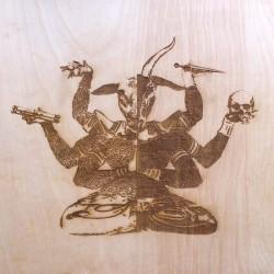 Druid - The Seven Scrolls Lp Splatter Vinyl Limited Edition