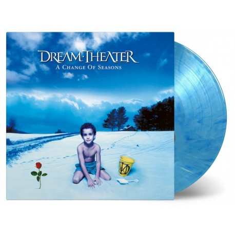 Dream Theater - A Change of Seasons 2 Lp Double Blue/White Vinyl Limited Edition MOV