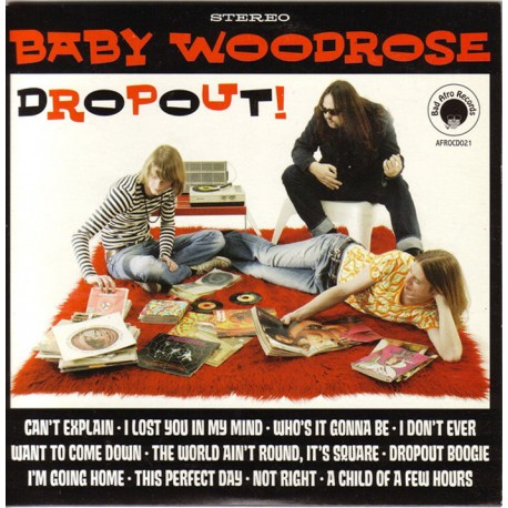 Baby Woodrose - Dropout! Lp Green Vinyl Limited Edition